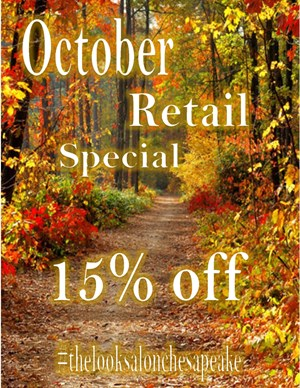 October Retail Special Photo