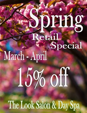 Spring Retail Special! Photo